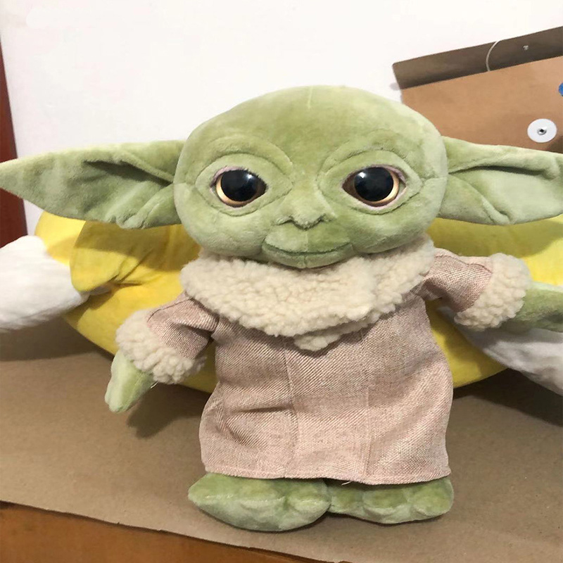 Disney The Mandalorian Star Wars Baby Yoda Plush Toys The Asset The Child Cartoon Plush Dolls