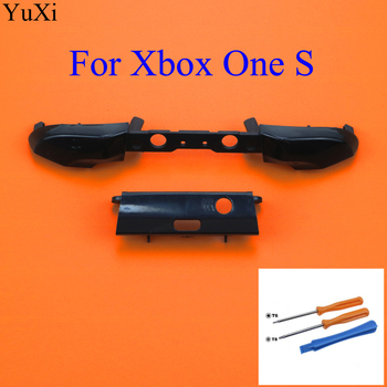 цена на YuXi LB RB Button Bumper Replacement Trigger Parts for Xbox One S Slim Controller