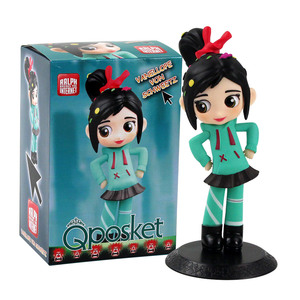 Q Posket Ralph Breaks the Internet Figures Princess Vanellope von Schweetz Cute Girl Model Toys Gift for Kids(China)