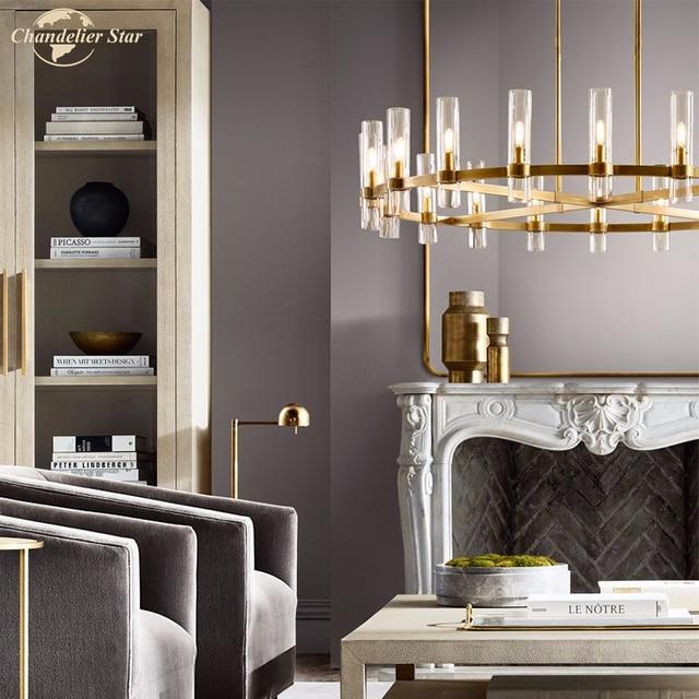 современные круглсветодиодный ные люстры освещение для гостиной фотография