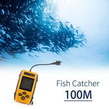 Беспроводной рыболокатор 06 100 м гидролокатор глубинный эхолот