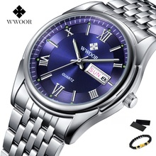 Original WWOOR Watch Men Luxury Watches