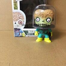 MARSATTACKS MARTIAN #01 POP z pudełkiem Vinyl Action Figures brinquedos zabawki do kolekcjonowania dla dzieci prezent