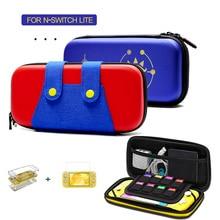 Portable Nintend Switch Lite Console Carrying Bag Kit Accessories EVA Storage Hard Case Bundle Nintendoswitch Travel Cover Set