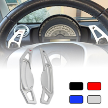 Car Accessories Steering Wheel Shift Paddle Extend Direct Paddle Extension For Benz Smart 451 453 For Two 09 16 Four 2015 2016