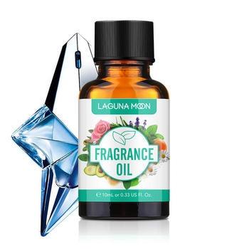 LAGUNAMOON 10ML Angel Oils Essential Lime Basil Midnight Rose Summer Rose Lemon For Candle Soap Making Perfume perfume oil