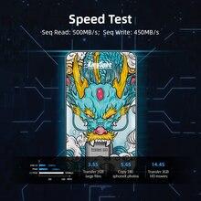 Kingspec внешний ssd жесткий диск 120 ГБ 240 hdd ТБ портативный