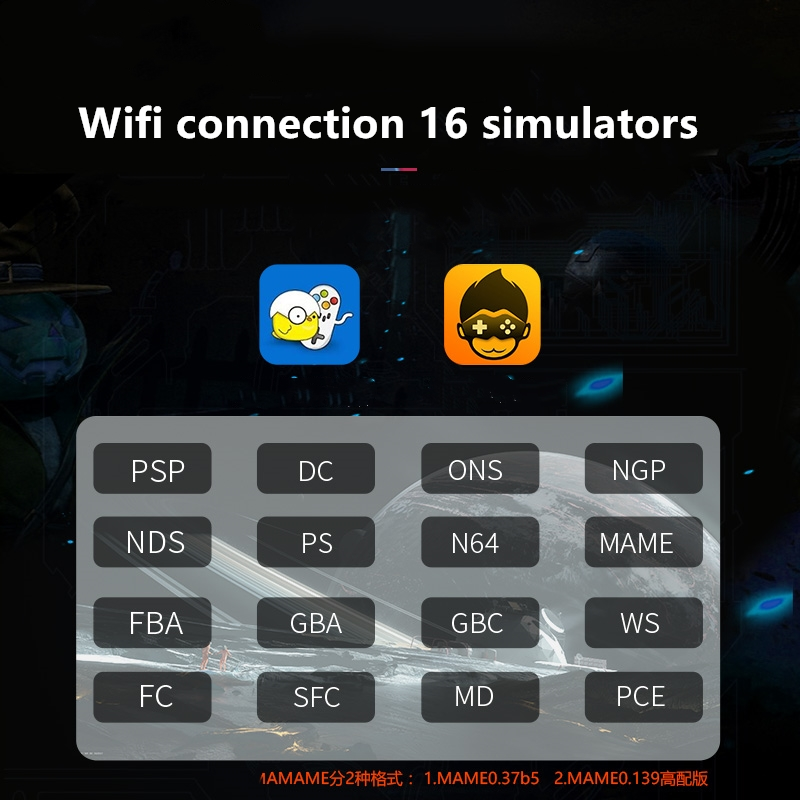 Powkiddy Х15 5,5-дюймовый сенсорный экран ретро портативный игровой консоли поддержка Android 7.0 беспроводной джойстик для PSP N64 на данный момент МД ЗЫ ГБА ГБЦ