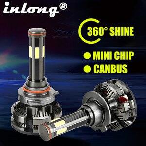 Image 1 - New Arrival H7 Led Canbus No Error H4 Car LED Headlight Bulbs H11 LED H8 HB3 9005 HB4 9006 Lamp 6500K 16000LM Auto Led Fog Light