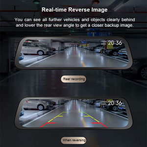 Image 5 - 70mai Rearview Mirror Camera Wide 9.35 inch Full Screen Stream Media Dash Cam Wifi 1080P 70 Mai Car DVR Rear View Camera