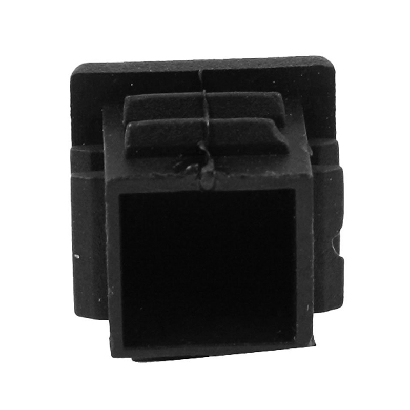 BMBY-12 Pcs 19mm X 19mm Blanking End Caps Square Tubing Tube Insert Plastic