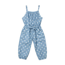 Pudcoco Infant Clothing Children Summer Rompers Girl Polka D