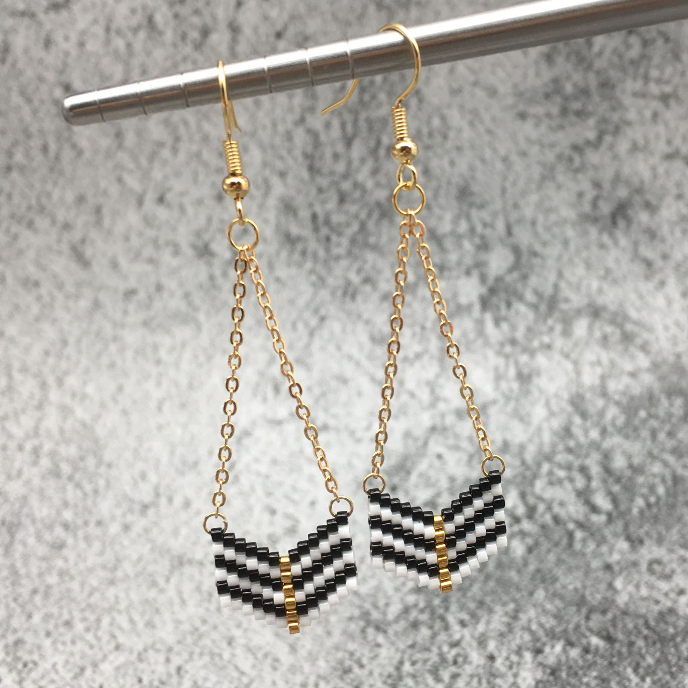 OMY <font><b>6</b></font> designs Women's fashion beads earrings for women earring BEADED Drop EARINGS Women Gift <font><b>bts</b></font> oorbellen 2019 image