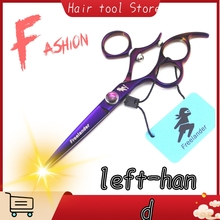 6 inch left hand rotating haircut hairdressing scissors professional high quality hairdresser hair salon salon dedicated 440c new design purple gem 7 inch hairdressing scissors faucet handle hairdresser professional hair styling tool high quality salon