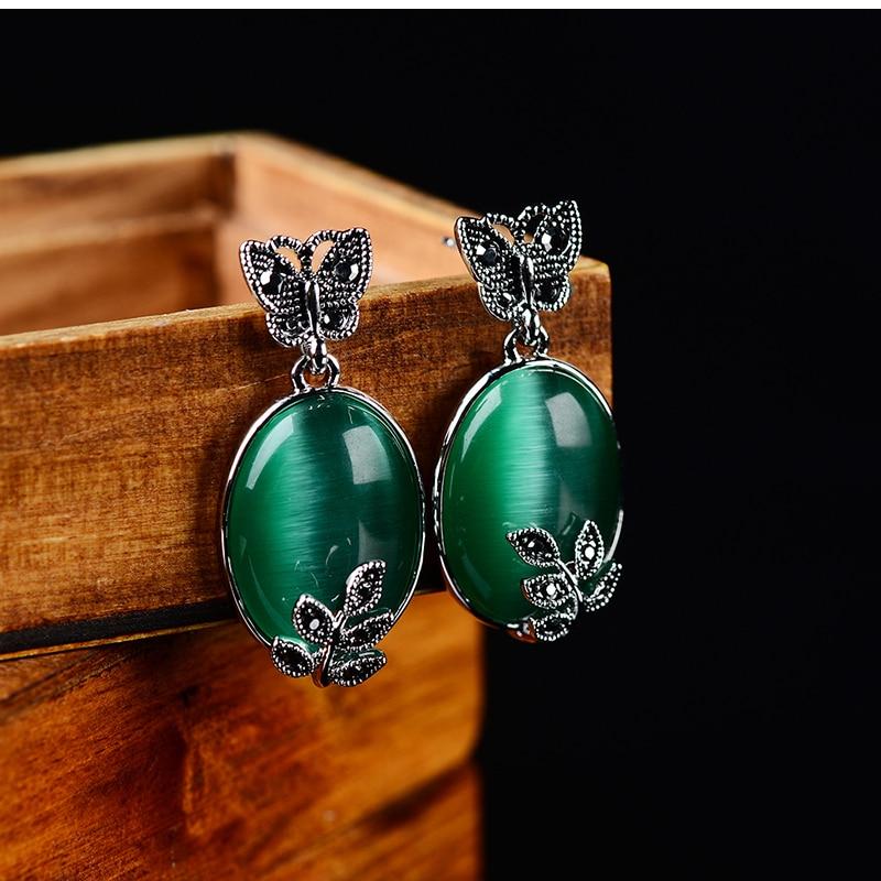 K- ի հարմարանքները Կանաչ օպալ - Նորաձև զարդեր - Լուսանկար 1