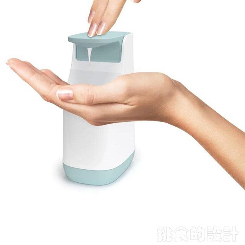 1Pcs C Shape Hand Sanitizer Bottle Plastic Hand Sanitizer Bottle Household Pressing Toilet Household Creative Soap Dispenser