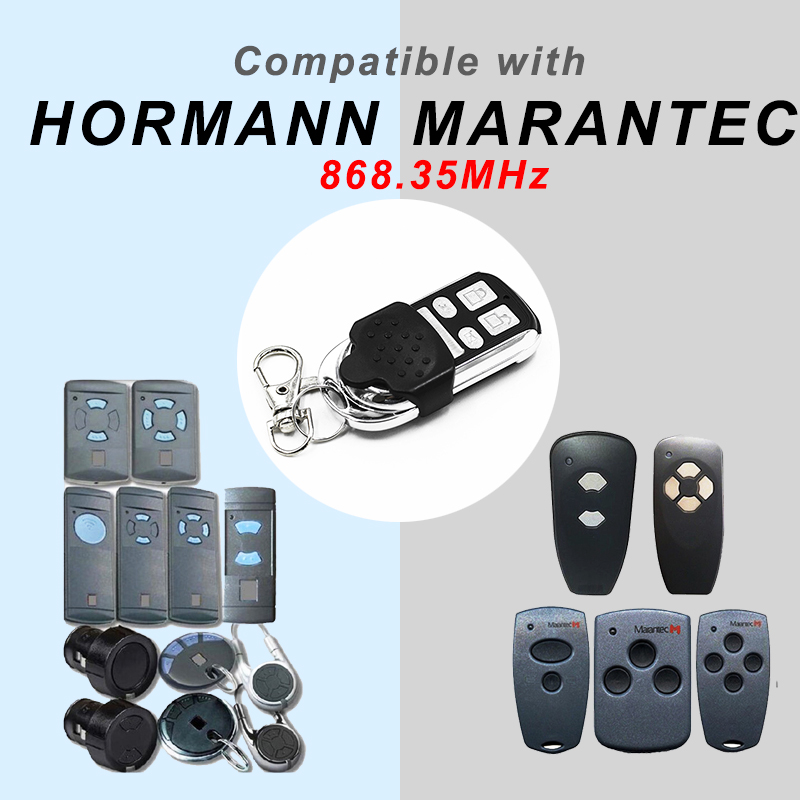 HORMANN 868 HSM2 HSM4 HSE2 MARANTEC Digital 384 D302 D304 868 Mhz Remote Control For The Gate Garage Door