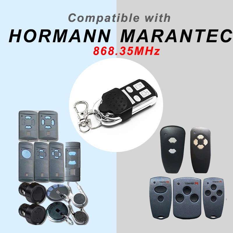 HORMANN 868 HSM2 HSM4 HSE2 MARANTEC Digital 384 D302 D304 868 Mhz Remote Control For The Gate Garage Door