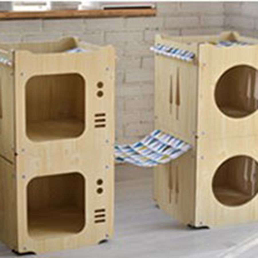 Wooden <font><b>Cat</b></font> <font><b>Bed</b></font> <font><b>House</b></font> Climbing Frame Hammock Summer Litter Box <font><b>Cat</b></font> <font><b>Bed</b></font> Hanging Kitty Amaca Gatto Litiere Chat Kitten <font><b>House</b></font> DD50MW image