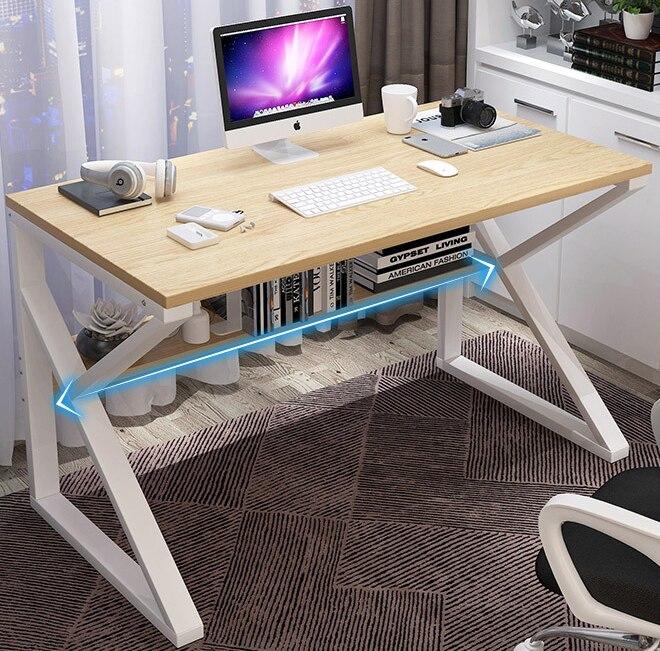 Upgraded Computer Laptop Desk 80cm Office Desk Modern Style Desk Home Office Studying Living Room Bedroom Economical Lazy Table Aliexpress