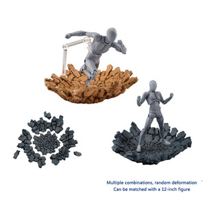 Image 2 - Model Creative Crack Explosion Effect Impact For Kamen Rider Figma SHF Action Figure  Accessories