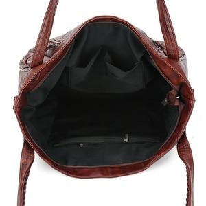 Image 5 - Gykaeo Luxus Handtaschen Frauen Taschen Designer Vintage Tote Tasche Damen PU Leder Große Kapazität Messenger Schulter Taschen Bolso Mujer