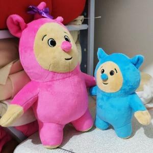 Image 2 - 2 ピース/ロットベビーテレビビリーと Bam ぬいぐるみフィギュア玩具ソフトぬいぐるみ子供のための誕生日ギフト