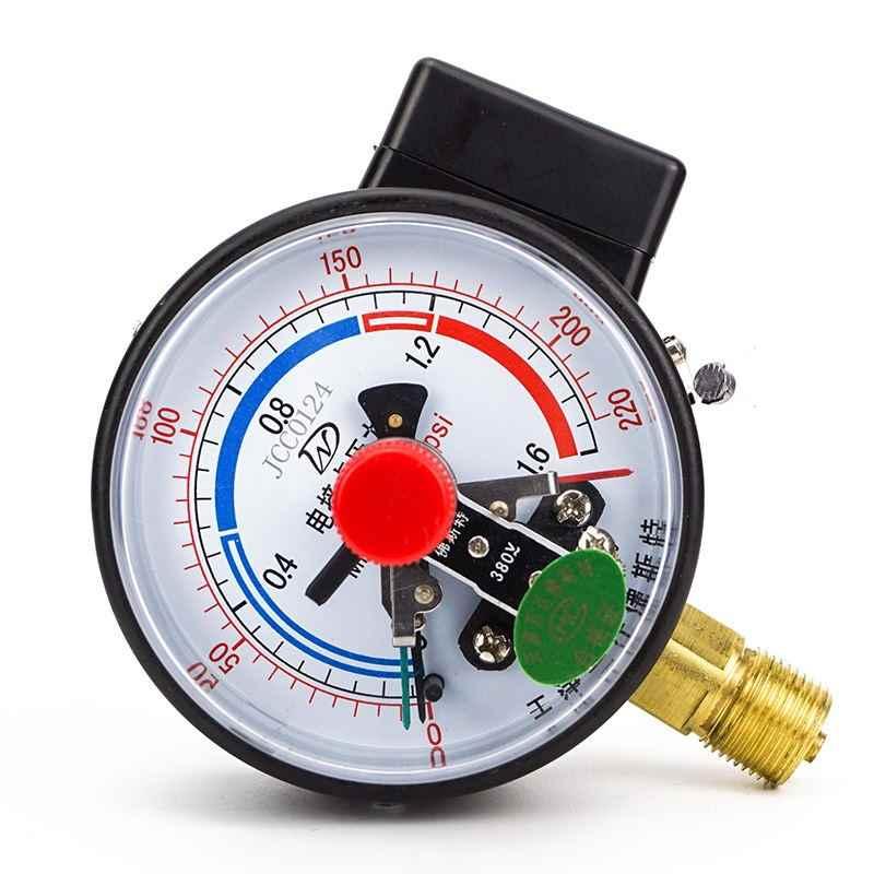 YX100 electric contact pressure negative pressure vacuum gauge 1.6 electronic control water pressure gauge