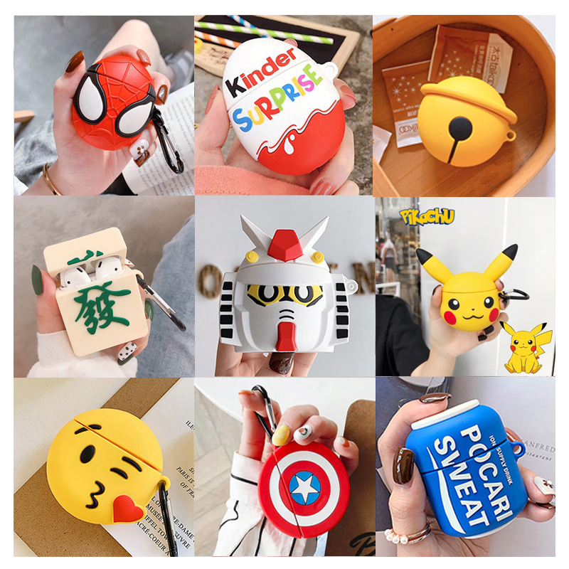For Airpods 2 Case Cute Earphone Cases For Apple Air Pods 1 1