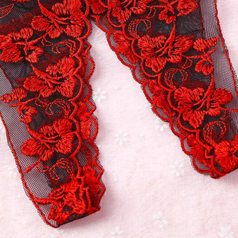 1 PCs Women Sexy panties women crotchless embroidered straps elastic erotic underwear T-pant Women Lingerie Open Crotch Lace