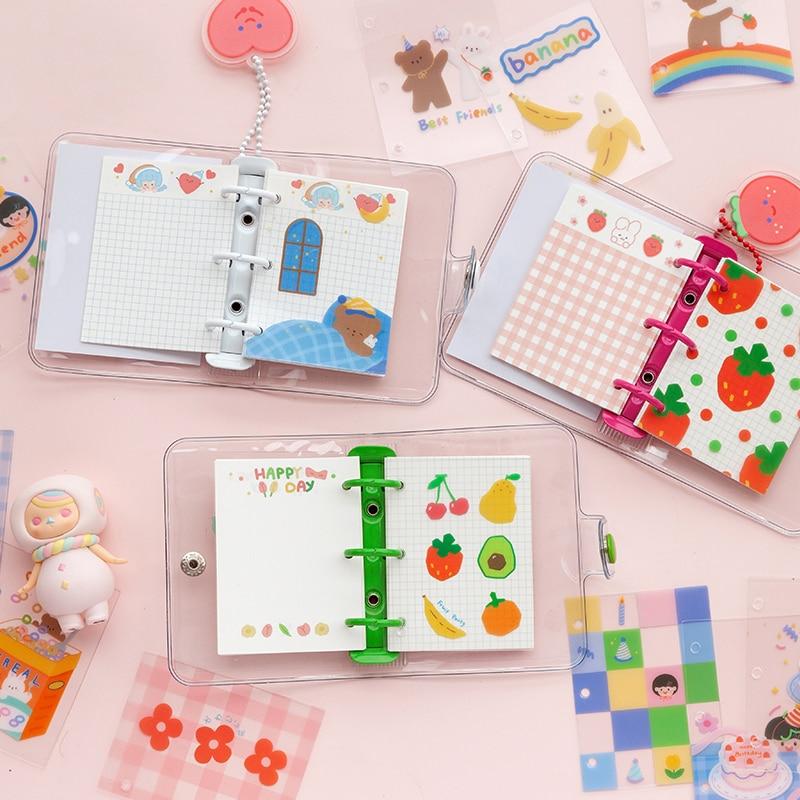 Cute Kawaii Mini Loose-leaf Notebook Stationery