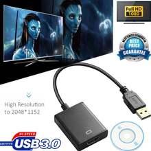 Видеоадаптер usb 30 full hd 1080p конвертер в hdmi совместим