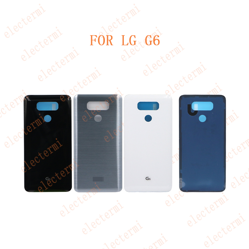Original Free Shipping 10pcs Battery Rear Back Door For <font><b>LG</b></font> <font><b>G6</b></font> H870 H870DS H871 H872 <font><b>H873</b></font> LS993 US997 VS998 Rear Housing Case image