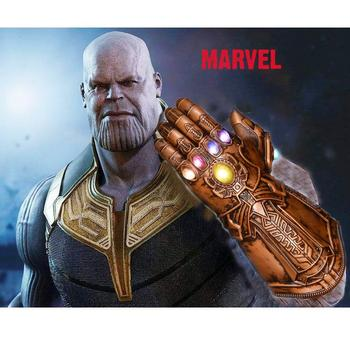 Marvel Thanos Gloves Glowing Avengers 40% Mask Infinity War Gems Colorful Lights