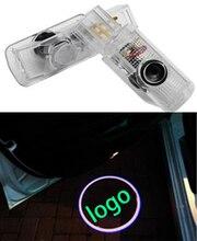 Car LED Door Warning Lamp For Mercedes Benz R W215 ML W164 GL X164 R300 R350 ML300 ML350 ML63 Logo Projector Welcome Light цена 2017