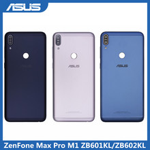 Asus Pin Vỏ Bao Da Cho Asus Zenfone Max Pro M1 ZB601KL ZB602KL Phía Sau Nhà Ở Cửa Dành Cho Asus ZB601KL ZB602KL