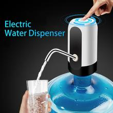 HOME-Water Bottle Pump, USB Charging Automatic Drinking Water Pump Portable Electric Water Dispenser Water Bottle Switch for U