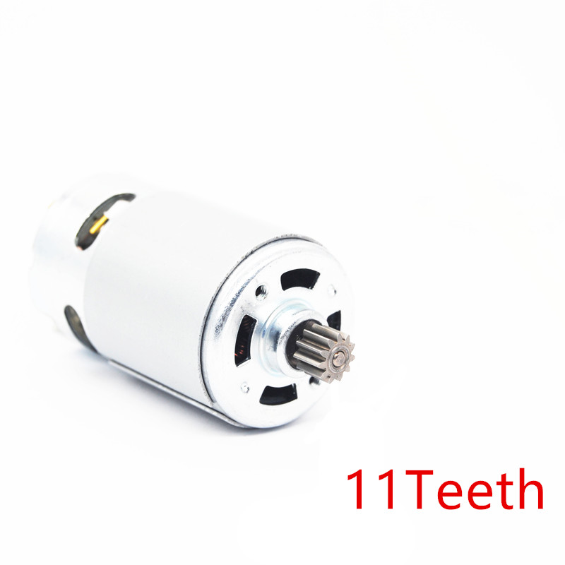 11teeth RS550 7.2V 9.6V 10.8V 12V 14.4V 16.8V 18V 21V 24V 25V Motor For BOSCH DeWALT HITACHI MAKITA METABO Milwaukee Hilti Ryobi