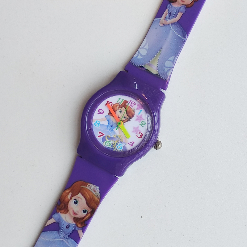 2019 Dropshipping Silicone Child Student Watch Girls Clock Fashion Girls Watches Kids Wristwatch Princess Children Quartz Watch