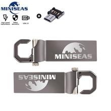 Miniseas USB Flash Drive Real Capacity High speed Matel-12 cute 8GB 16GB 32GB Memory Stick Pen Pendrive For PC
