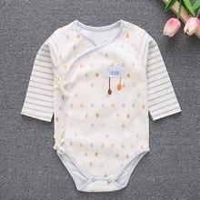 Боди с длинными рукавами для маленьких девочек; хлопковая одежда в полоску и горошек для новорожденных; Комбинезоны для маленьких мальчиков; Рождественская одежда