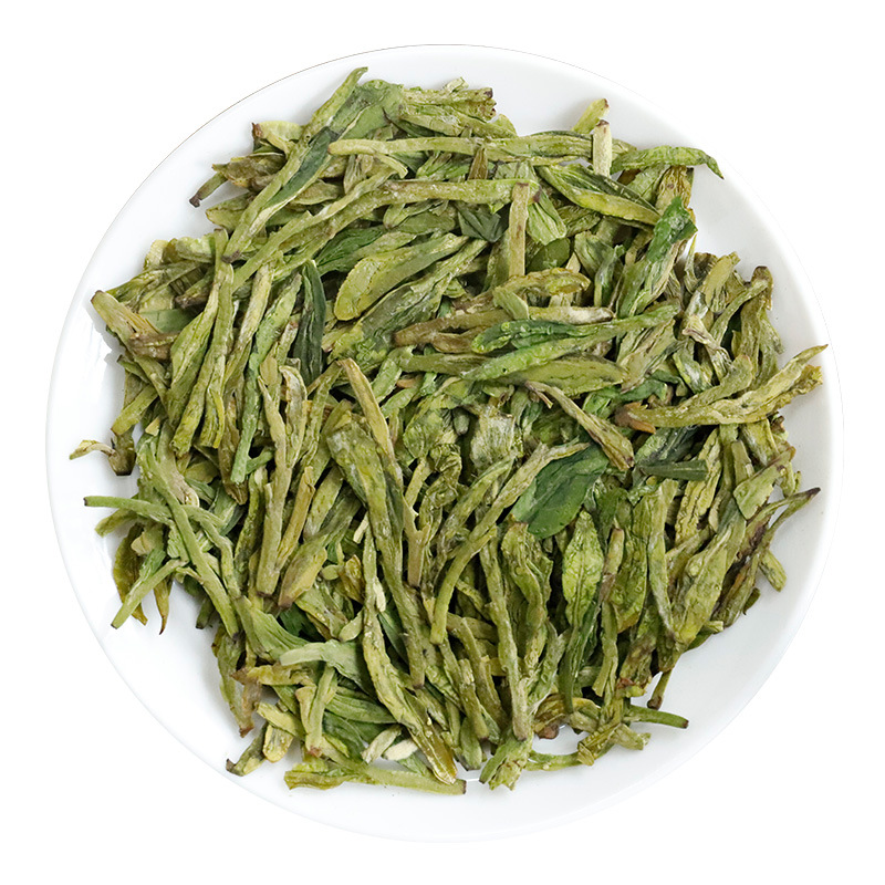 China Famous Good Quality Dragon Well 2019 New Spring Long-jing Green Tea For Weight Lose Health Tender Aroma