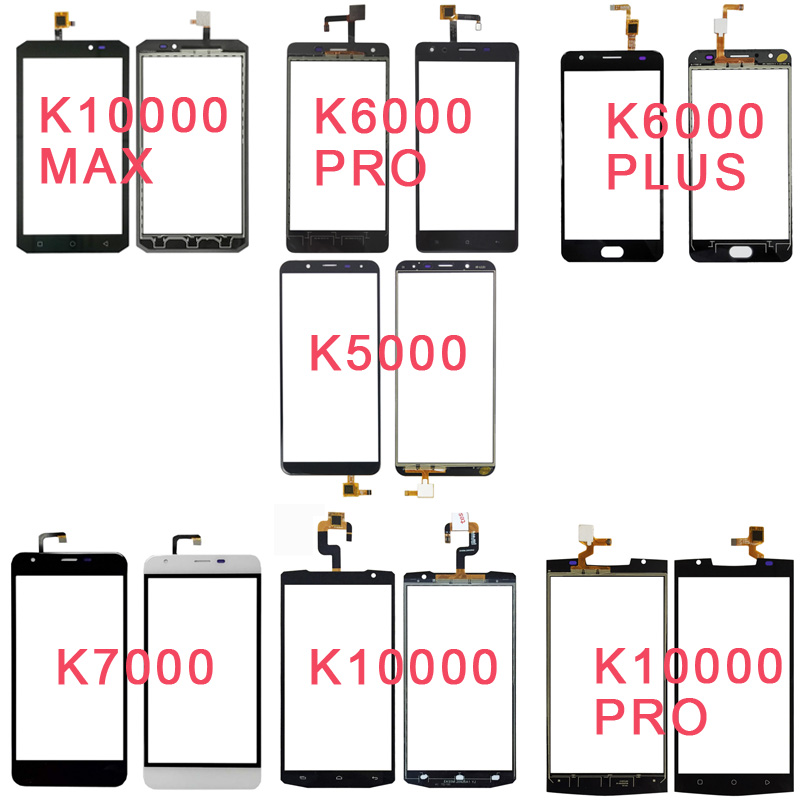 Phone Touchscreen For <font><b>Oukitel</b></font> <font><b>K5000</b></font> K6000 Plus K7000 K8000 K10000 Max Pro Glass Panel Digitizer Sensor no <font><b>LCD</b></font> image