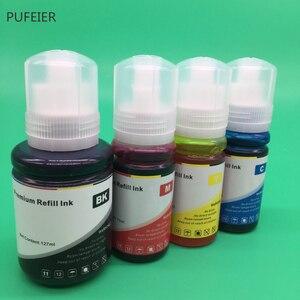 Image 4 - 4PCS 502 102 104 T502 T102 T104 Refill Farbstoff Tinte Kits Für Epson ET 2700 ET 2710 ET 2711 ET 2750 ET 3700 ET 3750 ET 4750