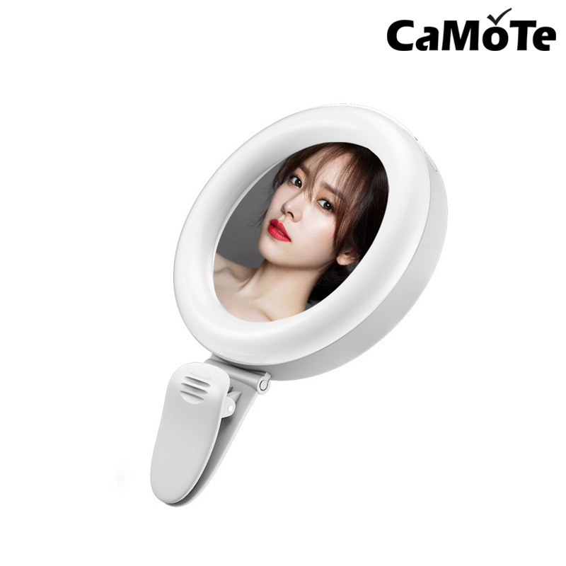 Portable Flash LED USB Charge LED Selfie Ring Light Portable Phone Lamp for iPhone Smartphone Xiaomi Beauty Fill Light LAMP