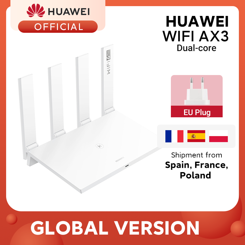 Huawei Router AX3 Dual-Core Global-Version 5ghz 3000mbps Wi-Fi Wireless 4 6-Plus