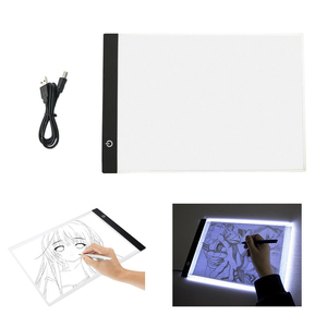 Electronic Painting Drawing Board A4 Dimmable LED Digital Tablets Drawing Copy Pad Board Educational Toys For Children Kids Gift
