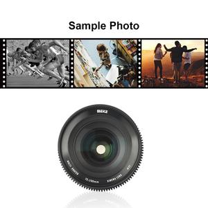 Image 5 - Meike Prime 35mm T2.1  Super 35 Frame Cinema Camera Systems for Canon Cameras with EF Mount
