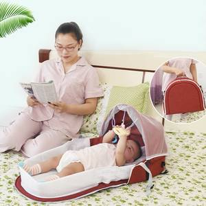 High Quality Foldable Portable Bassinet Breathable Mosquito Net Travel Sun Protection