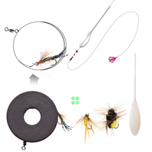 Fishing Bombards Fishing Float Fishing Fly Rig Bomb Float Combo Set For Sea Trout Rainbow Trout Fishing with Spinning Rod Reel cheap Ocean Boat Fishing Ocean Beach Fishing LAKE River Reservoir Pond stream LURE ABCD Artificial Bait 6 8 10 12 15 20 25g